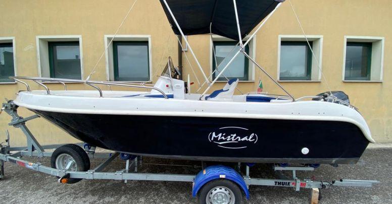 Barca Open Mistral Sfera + Yamaha F40 DETL senza patente