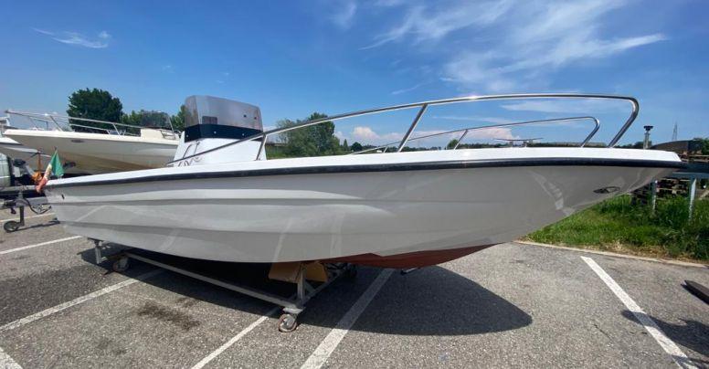 Barca Baruffaldi Open Senza Patente + Yamaha F40 HETL NUOVO