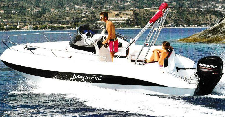 Marinello 19 Sport Walkaround Cabin + Yamaha F40 GETL