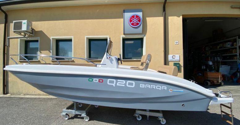 Barca Open Barqa Q20 + Yamaha F40 HETL Senza Patente