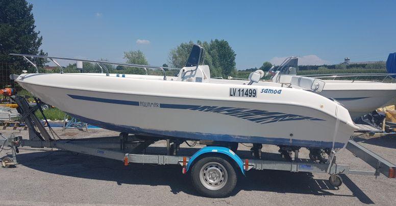 Barca open senza patente Aquamar Samoa 550 + Yamaha F 40 4T